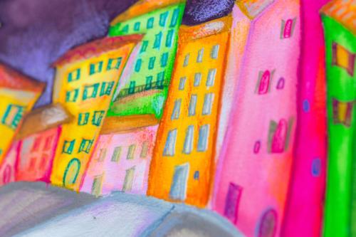 La mia finestra su Camogli - dettaglio